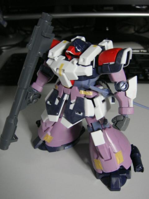 胸部増加装甲 俯瞰