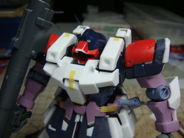 ドムトロ胸部増加装甲
