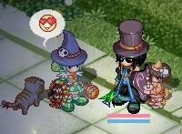 ハロウィン帽子(*´ω`*)