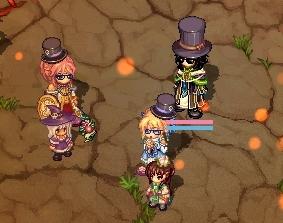 紳士の帽子三人組