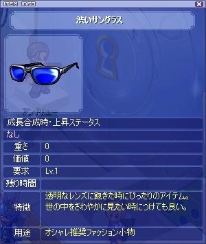憧れのサングラス