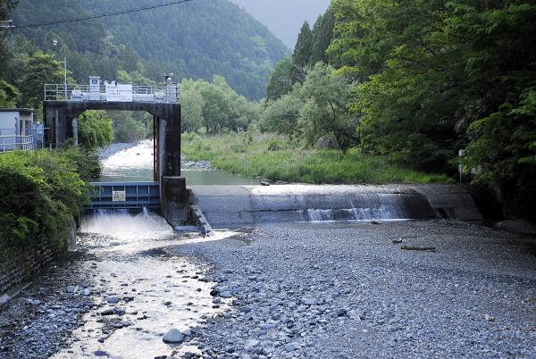 静岡県 榛原川堰堤