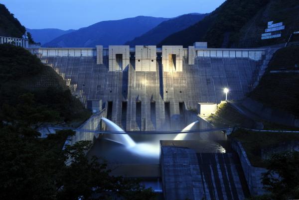 静岡県 長島ダム