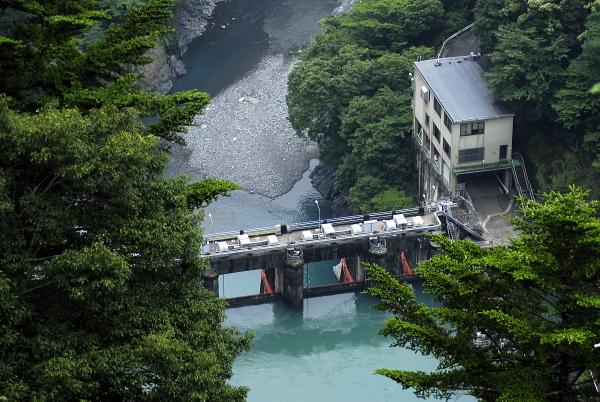 静岡県 寸又川ダム