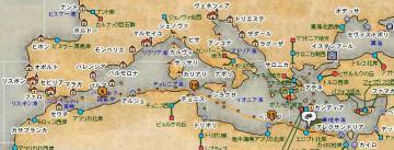 リス→アレク間航路図