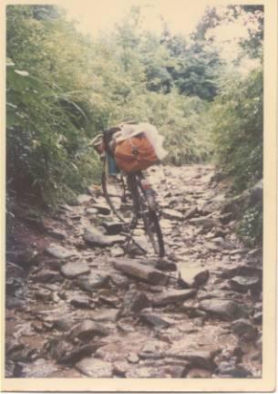 自転車旅行 旧中仙道