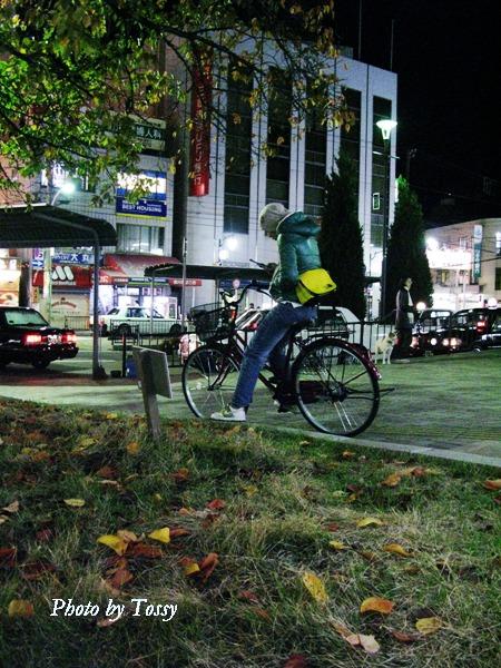 落ち葉の停車場