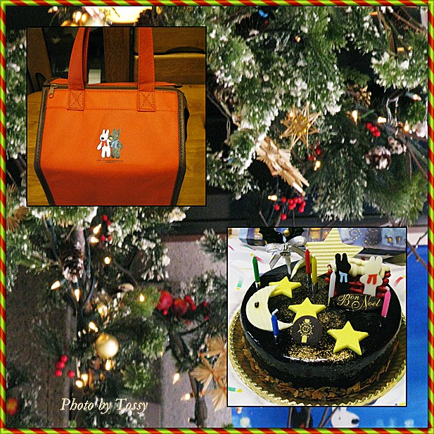 リサとガスパールのクリスマスケーキ