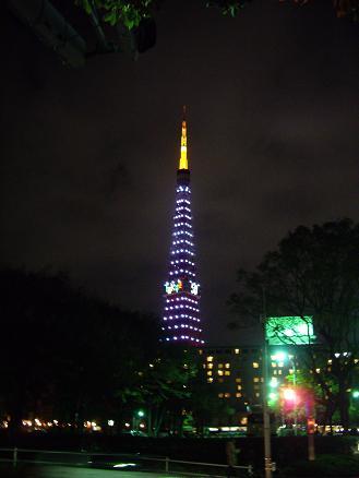 東京タワーのイルミネシーション