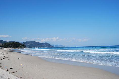 白浜海岸・・・綺麗な海~!