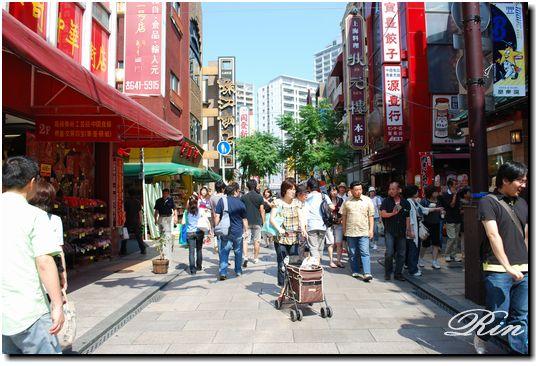 中華街を満喫中