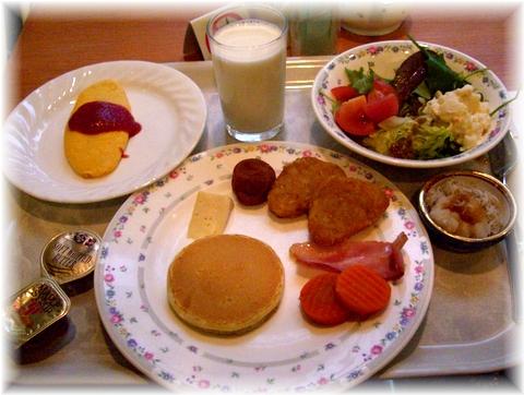 08 ホテル 朝食