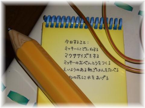 07 ミニーちゃんの家 メモ