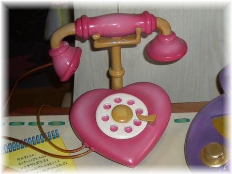 07 ミニーちゃんの家 電話