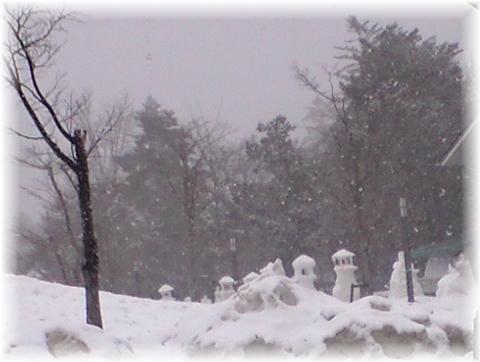 20090216 雪灯篭