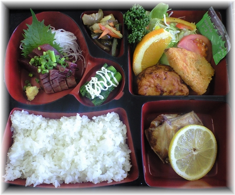 20090319 花しょうぶ お弁当