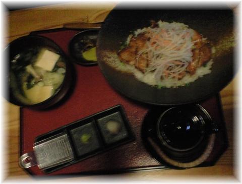 20090426 旭屋 ステーキ丼