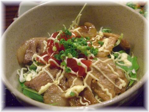 20090810 さわらび 豚丼