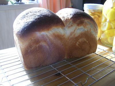 はちみつ食パン 008