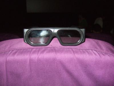 3D映画のメガネ