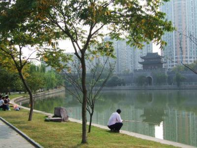杭州で釣りを楽しむ人々②