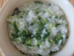 朝食(08Jan08):七草粥もどき