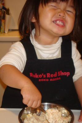 1歳10ヶ月26日①:今日もお料理~