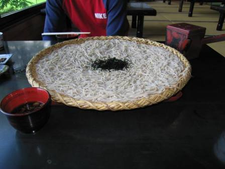 お蕎麦before