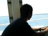 黒島への船1