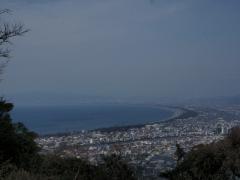 徳倉山々頂からの景色