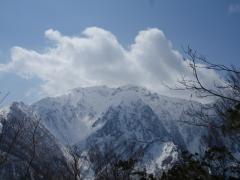谷川岳もお目見え
