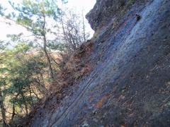 岩もツルンツルン