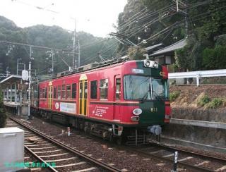 京阪石山坂本線の電車 1