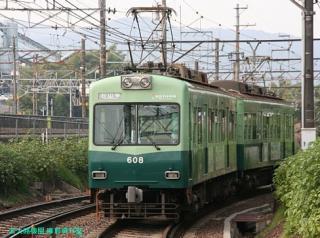 京阪石山坂本線の電車 5