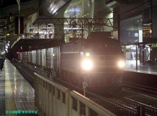 雷鳥の京都駅 5