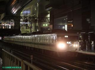 雷鳥の京都駅 7