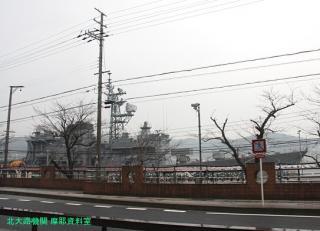 舞鶴基地にいちばん近いバス停 8