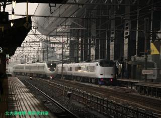 京都駅 サンダーバード 4