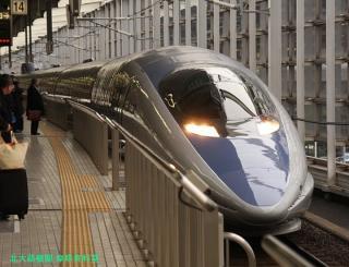 京都駅の500系 いまのうちに 1