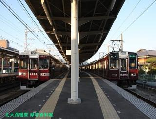 阪急長岡天神駅の日常風景 4
