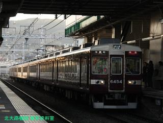 阪急長岡天神駅の日常風景 7