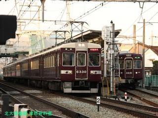 阪急長岡天神駅の日常風景 14