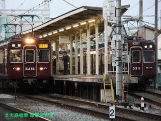 阪急長岡天神駅の日常風景 17