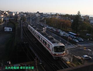 名鉄をJR東海道本線の新快速から 5