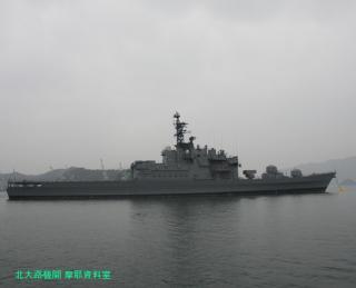舞鶴基地の元護衛艦はるな 前島埠頭から 1