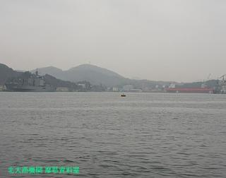 舞鶴基地の元護衛艦はるな 前島埠頭から 9