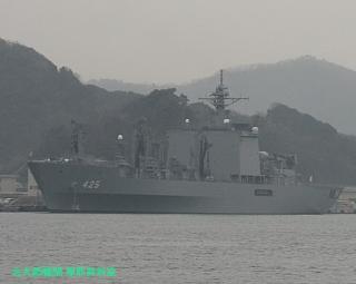 舞鶴基地の元護衛艦はるな 前島埠頭から 8