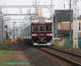 阪急6300系短縮編成運用開始 3