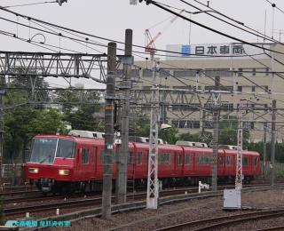 名鉄 日本車両 撮影スポットから 1