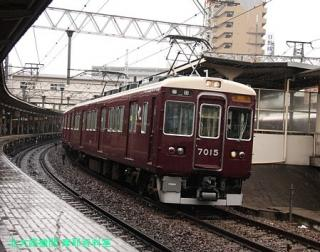 阪急 雨天の特集 6